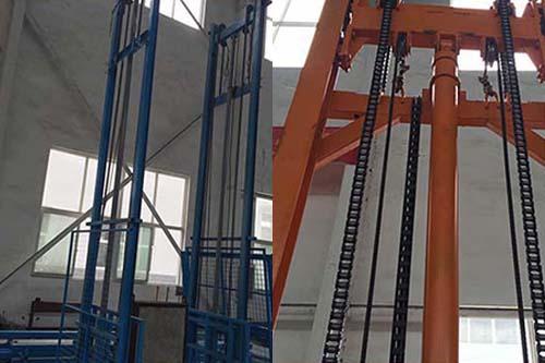 液压集装箱升降机