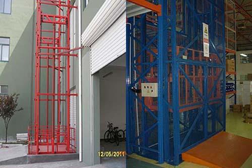 湖北厂房液压升降机